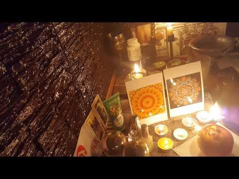 Ритуал на молодость и красоту через мандалу и яблоко