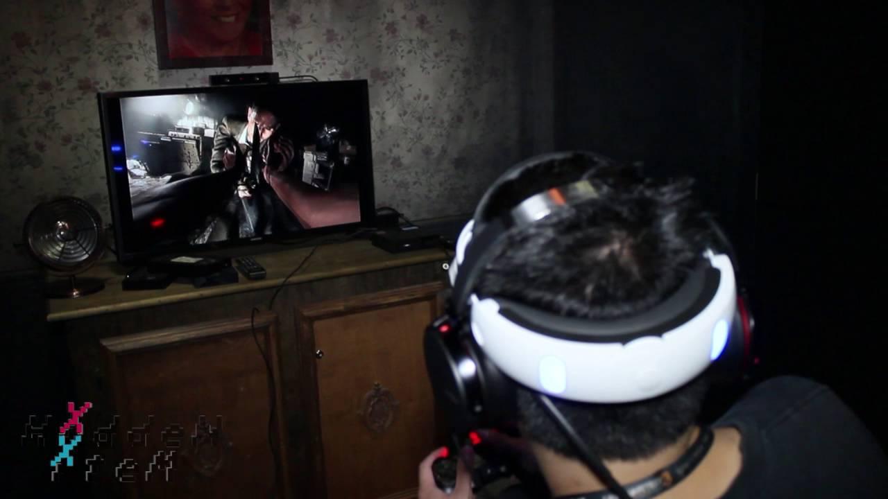 Resident Evil 7 Vr Demo Reaction Youtube