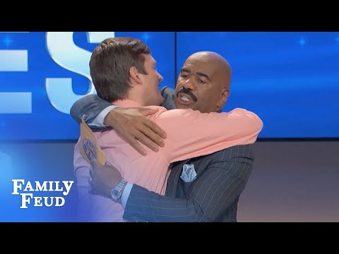 Isaac keeps it CLEAN!   Family Feud