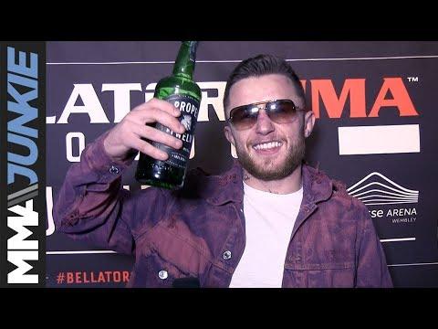 Bellator London: James Gallagher post-fight interview