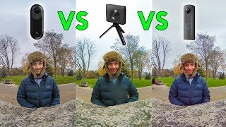 Insta360 One vs. Mi Sphere vs. Theta V: Best Photo Camera?