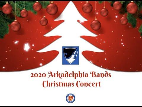 2020 Arkadelphia Bands Christmas Concert   YouTube