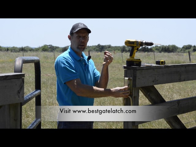 How To Install the Best Gate Latch for Farms and Ranchs