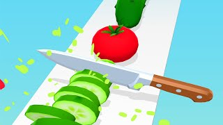 Perfect Slices - All Levels Gameplay Android iOS (Levels 1-6)