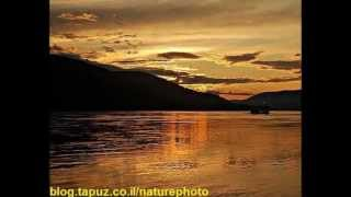 "Beautiful sunsets Yukon River in Canada - ""Nature Photographer"""