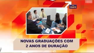 Inscrições abertas Graduação Tecnológica UnirG