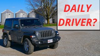 Is The Jeep Wrangler A Good Daily Driver? We Rented A Jeep Wrangler To Find Out