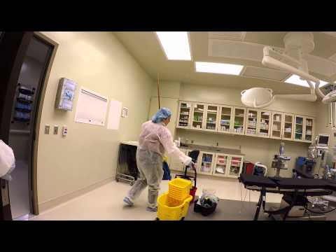 Terminal Cleaning of a Medical Facility