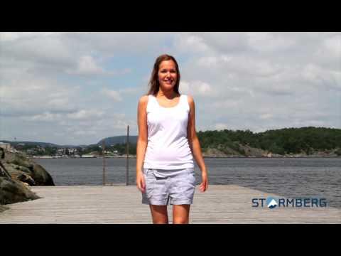 Stormberg catwalk-  Blikk t-skjorte og Valvika shorts