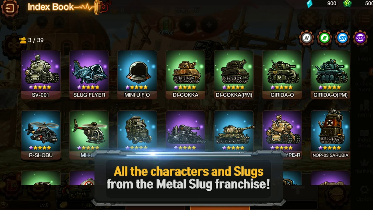 Update: Out now] Metal Slug Infinity is a new idle RPG from ekkorr