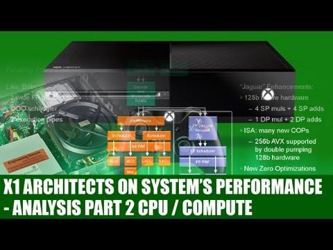 Xbox One - X1 Architects Speak To Explain Xbox One Hardware - CPU & Compute - Analysis Part 2