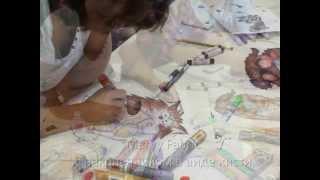 Маркеры по ткани Marvy(6 и 7 июля в галерее