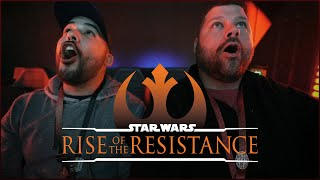 Our Galaxys Edge Experience & Riding Star Wars: Rise Of The Resistance