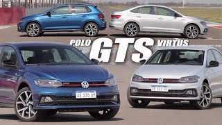 VW Polo GTS - VW Virtus GTS - Doble test - Matías Antico - TN Autos
