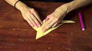 Origami Rabbit Head Crafts : Arts & Crafts For Kids