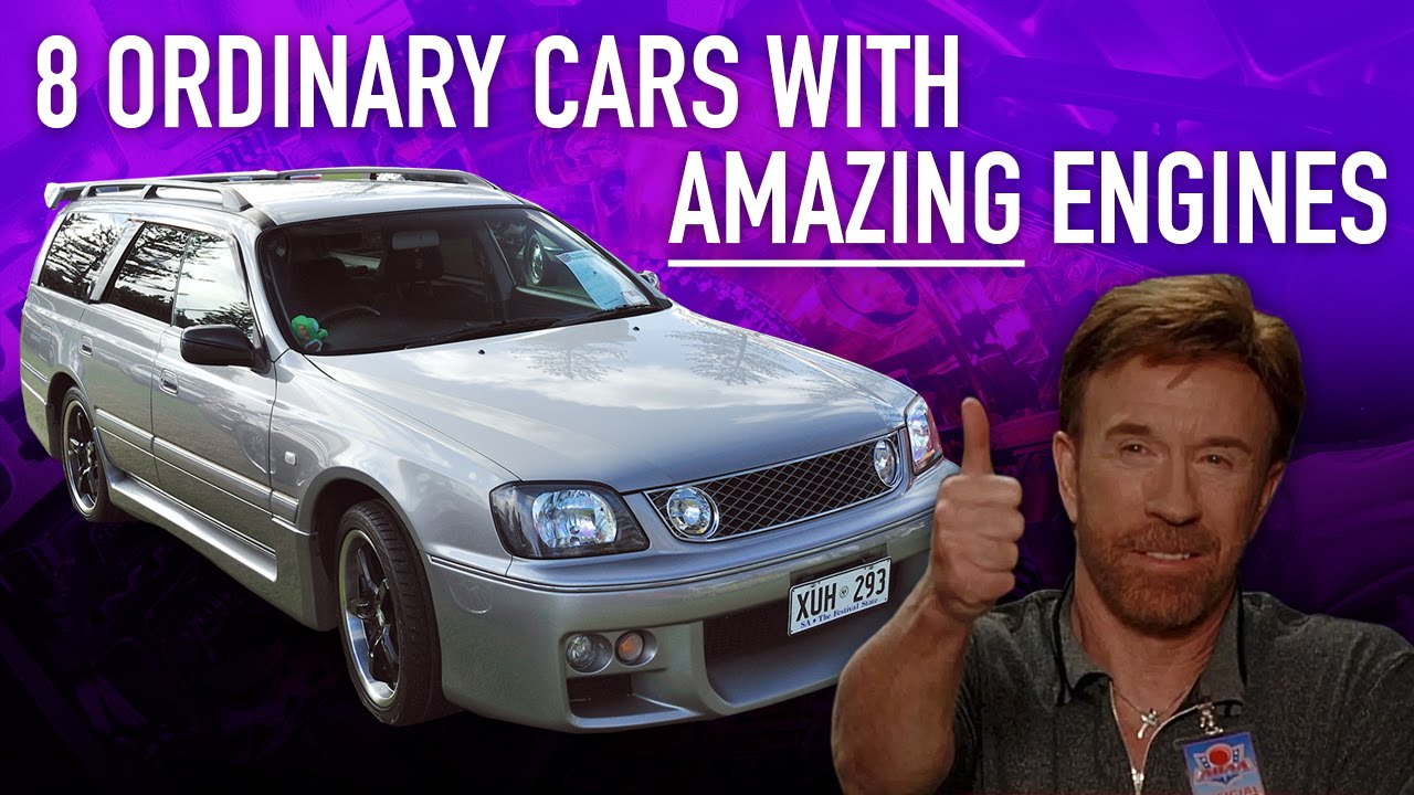 8 Ordinary Cars With Amazing Engines