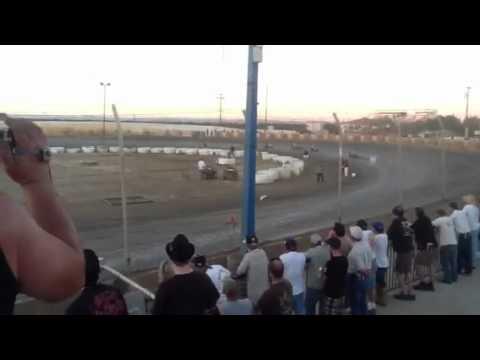 Gene Romero WCFTS RND 6 Marysville Raceway Park 9-15-12 K&N