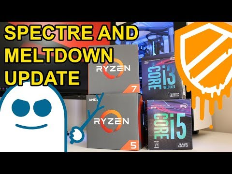 Meltdown and Spectre Security Flaw Update
