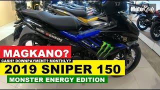 Yamaha Sniper 150  Monster Energy edition 2019