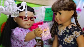 Emma and the Flour Child (American Girl Doll Stopmotion)