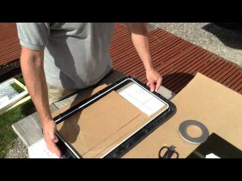 Clear View Entry Door Window Kit Youtube