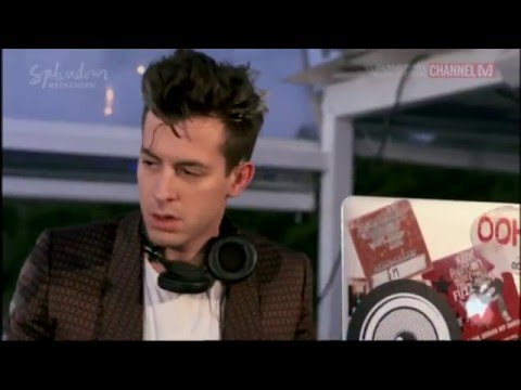 Mark Ronson - Live Set at V Island Party Sydney Harbour 2015