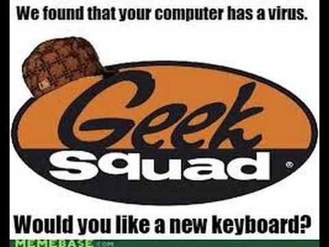 Best Buy Geek Squad Scam - YouTube