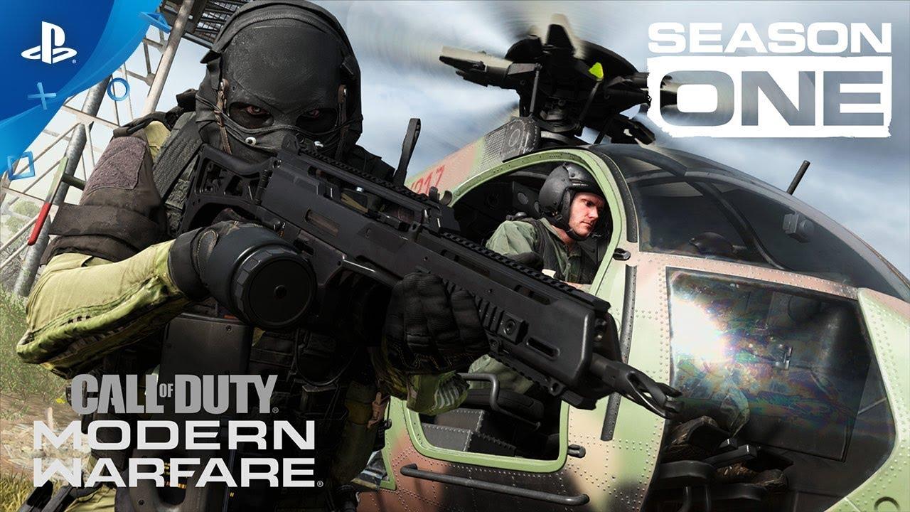 Call Of Duty Modern Warfare Season One Trailer Ps4 Youtube