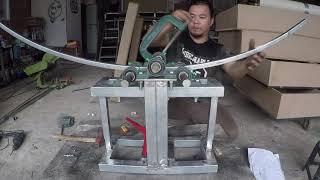 Chế tạo máy uốn sắt - [Huy D.I.Y]