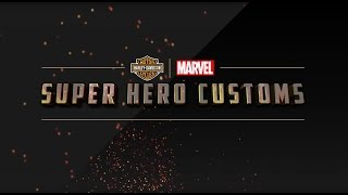 H-D Marvel Customs Trailer
