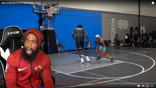 "He CROSSED His ANKLES! Bone Collector vs 7'6"" NBA Player Part 2"