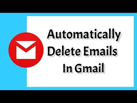 How To Automatically Delete Emails in Gmail - অটোমেটিক ভাবে মেইল ডিলিট করুন