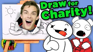 Ultimate Art Battle w/ TheOdd1sOut & SomethingElseYT (St. Jude Charity Livestream)