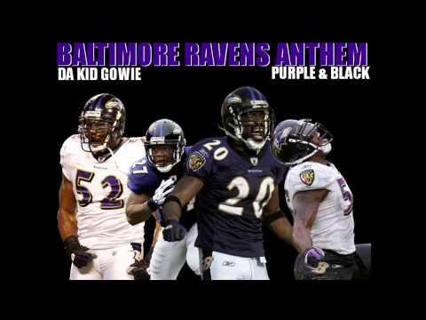 Baltimore Ravens Anthem (Purple & Black)