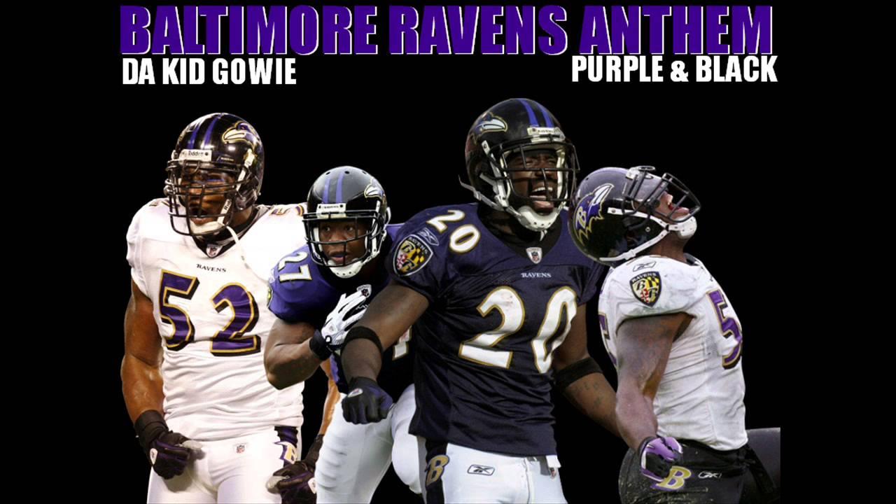 new style ba9da f92fe Baltimore Ravens Anthem (Purple & Black)