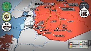 27 июля 2018. Военная обстановка в Сирии. Сирийская армия и ВКС РФ уничтожили свыше 600 игиловцев.