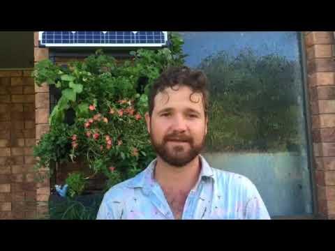 Winding up - TelePLANTathic Vertical Garden Kickstarter