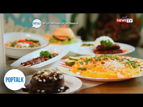 PopTalk: Healthy food restaurants in the Metro