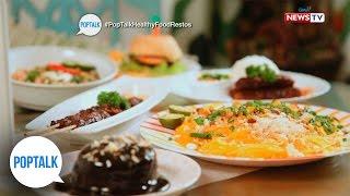 PopTalk: Healthy food restaurants in the Metro