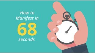 How To Manifest Anything In 68 Seconds - Abraham Hicks - Mind Movies