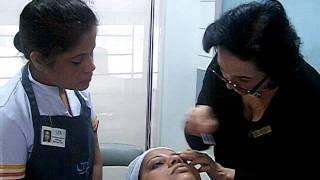 Watch student's workshop session with CIDESCO Examiner - LTA School of Beauty Thumbnail