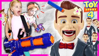 Toy Story 4 Benson Dummy Clones Himself | Part 2 | Bo Peep is gone, Kin Tin Rescues Toy Story 4 Toys