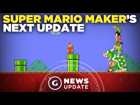 Super Mario Maker Getting New Items - GS News Update