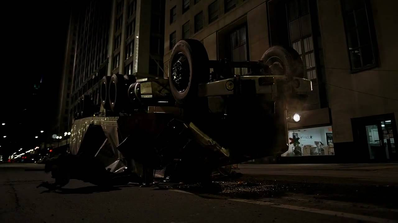 Batman The Dark Knight Truck Scene HD YouTube
