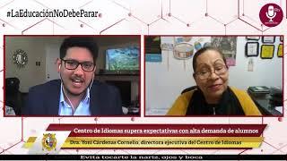 Tema: Centro de Idiomas supera expectativas con alta demanda de alumnos.