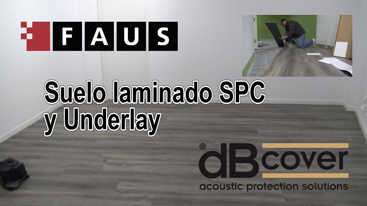 Instalación de suelo SPC + Underlay