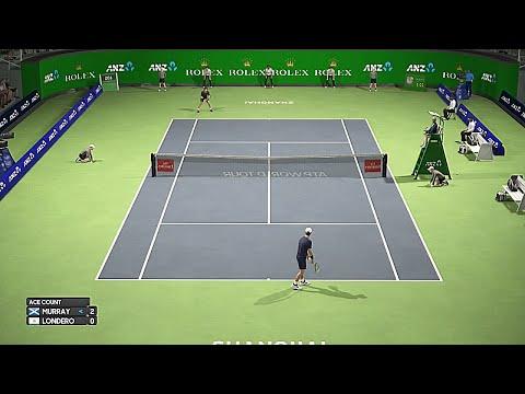 Andy Murray vs Juan Londero Shanghai 2019 - AO International Tennis Gameplay