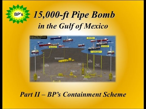 Pt 2 The Containment Scheme - of BP's 15,000-ft Pipe Bomb documentary