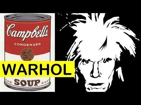 Andy Warhol Campbell's Soup Cans | Pop Art | LittleArtTalks