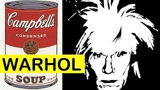 Video Andy Warhol Campbell's Soup Cans | Pop Art | LittleArtTalks download MP3, 3GP, MP4, WEBM, AVI, FLV Agustus 2018
